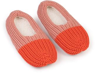 Verloop Colorblock Knit Slipper