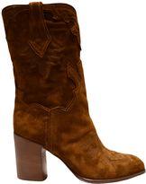 Casadei Buckskin Western Boots