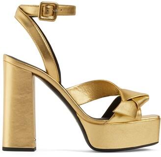 Giuseppe Zanotti Front-Strap Platform Sandals