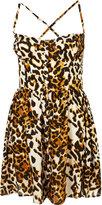 Animal Cupped Sun Dress