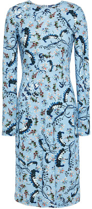 Erdem Eileen Floral-print Ponte Dress