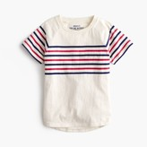 J.Crew Boys' vintage chest-stripe T-shirt
