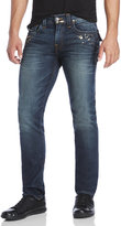 True Religion Geno Metallic Relaxed Slim Fit Jeans