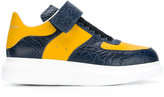 Alexander McQueen extended sole sneakers - men - Calf Leather/Leather/rubber - 40