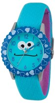 Sesame Street Stainless Steel Time Teacher Watch - Blue