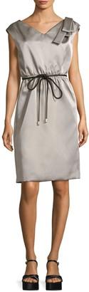 Marc Jacobs Satin Tie-Waist Popover Dress