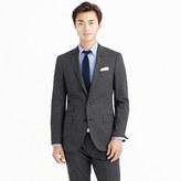 J.Crew Ludlow suit jacket in Italian tick-weave wool-cotton