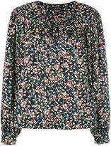 Isabel Marant floral print blouse - women - Silk - 36