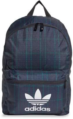 adidas Tartan-Print Backpack