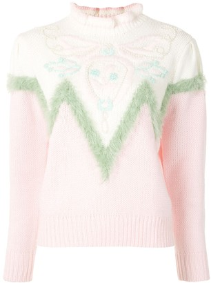 Marc Jacobs Intarsia Knit Jumper
