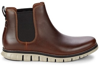 Cole Haan Zerogrand Leather Chelsea Boots