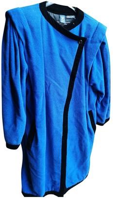 Ungaro Blue Wool Coats