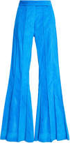 Rosie Assoulin Pleated Flare Pants