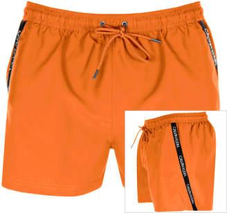 Calvin Klein Swim Shorts Orange