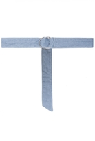 Quiz Blue Denim Wrap Around Ring Belt