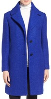 Tahari Women's 'Tessa' Boiled Wool Blend Coat