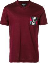Giorgio Armani printed logo T-shirt