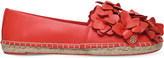 Tory Burch Blossom leather espadrilles