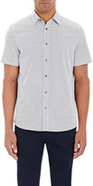 Michael Kors Men's Circle-Tile-Print Short-Sleeve Shirt