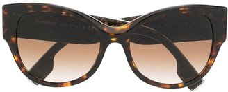 Burberry 0BE4294390413 cat eye-frame sunglasses