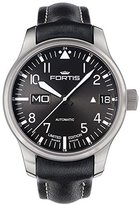 "Fortis Men's 700.10.81 L.01 F-43 ""Flieger"" Black Leather Strap Automatic Watch"