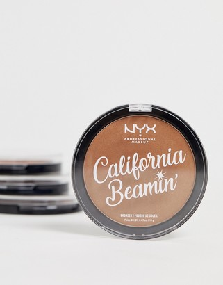 NYX California Beamin' Face And Body Bronzer - The Golden One