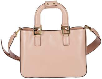 Fendi FF Small Top Handle Tote Bag