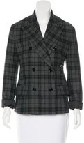 Golden Goose Deluxe Brand Plaid Wool Jacket w/ Tags