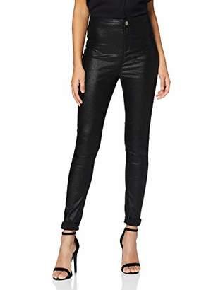 Dorothy Perkins Women's Regular Length Glitter Lyla Skinny Jeans,(Size:)