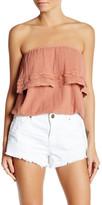 Billabong Sunny Dazer Strapless Shirt