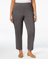Alfred Dunner Plus Size Cactus Ranch Collection Pull-On Pants