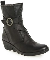 Fly London 'Pong' Wedge Bootie