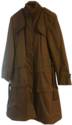 Trussardi Beige Cotton Coat for Women