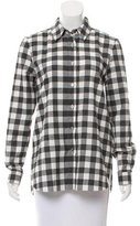 Jenni Kayne Plaid Button-Up Top w/ Tags