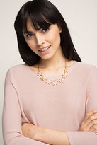 Esprit OUTLET floral link necklace