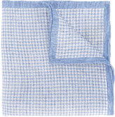 Eleventy woven Houndstooth scarf - men - Linen/Flax - One Size