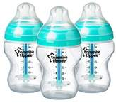 Tommee Tippee Advanced Anti-colic 3pk Baby Bottle 9oz - Clear
