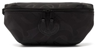 Burberry Sonny Monogram-jacquard Belt Bag - Black