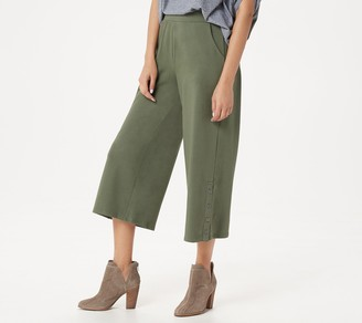 Lisa Rinna Collection Culottes with Hem Detail