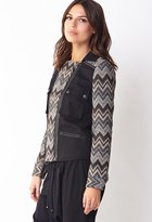 LOVE21 LOVE 21 Out West Woven Jacket