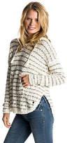 Roxy NEW ROXYTM Womens Smoke Signal Stripe Hooded Knit Jumper Womens Sweater
