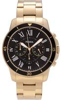 Fossil Men's Stainless Steel Grant FS5267 Chronograph Dial Link Bracelet Dress Watch