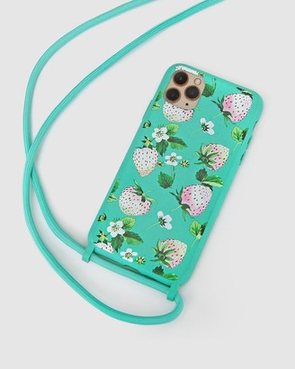Belle & Bloom Women's Green Phone Cases - Into The Jungle Phone Case - iPhone 11 Pro Max - Size One Size at The Iconic