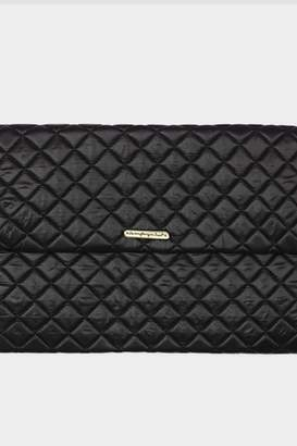 Tigerlily Rectangular Quilted Clutch