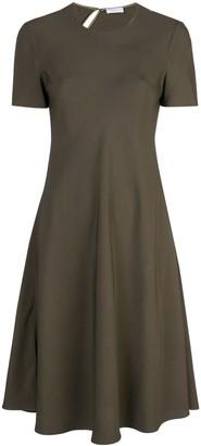 Rosetta Getty bias T-shirt dress
