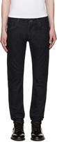 Dolce & Gabbana Indigo Embroidered Jeans
