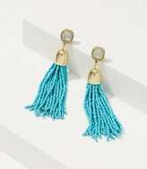 LOFT Seed Bead Tassel Earrings