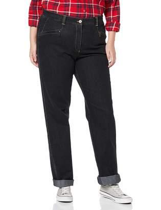 Ulla Popken Women's Stretchjeans Mony L Slim Jeans