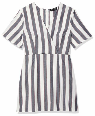 The Fifth Label Women's Sleeve Short WRAP Dress
