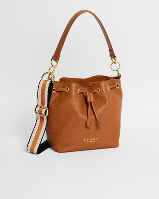 Ted Baker AMINAH Branded Webbing Strap Bucket Bag